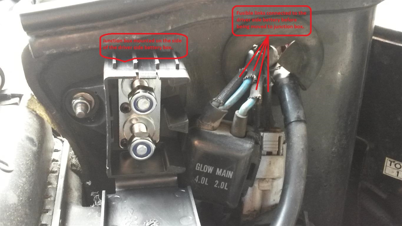 12 volt starting conversion on a 1997 24 valve manual 80 series ...