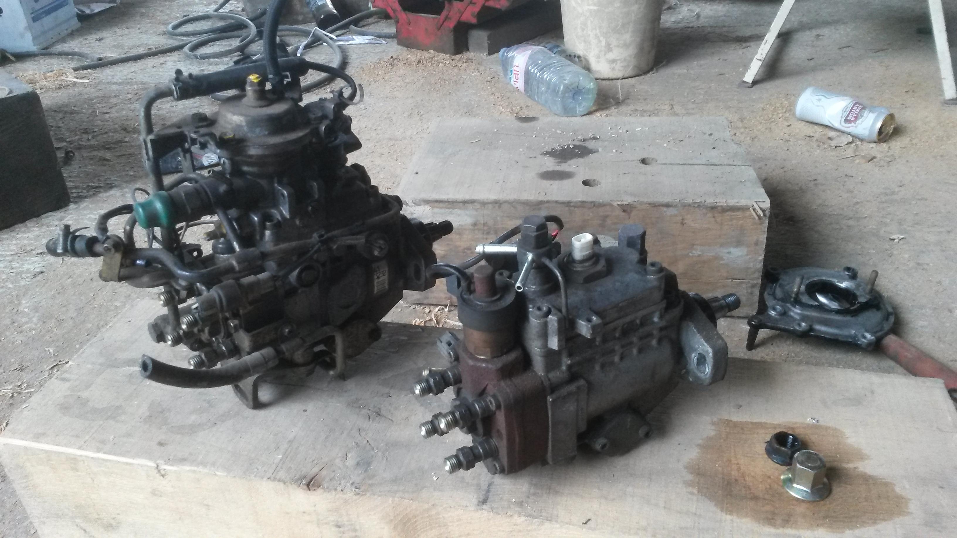 1kzte with mitsubishi 4m40 pump | Land Cruiser Club