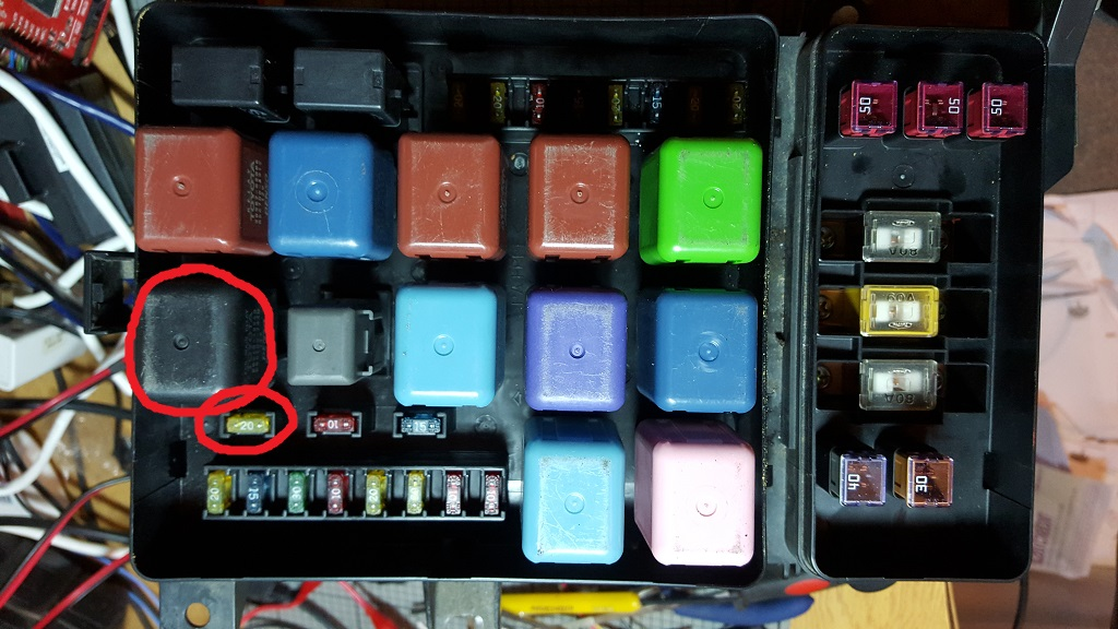 UZJ100 immobiliser fault – Land Cruiser Fuse Box