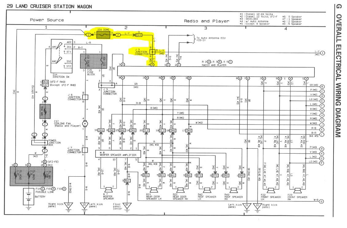 fj60 air conditioner wiring diagram