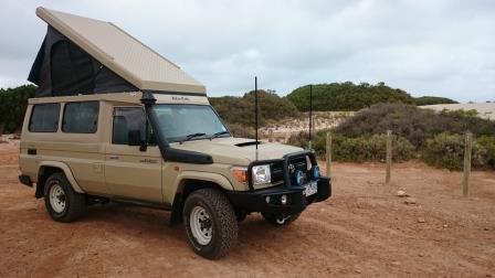 VDJ78R Flip Top camper conversion | Land Cruiser Club