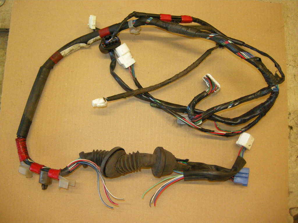 Drivers Door Wiring Repair Land Cruiser Club Wire Harness Tubing Dscn4190 Zpsrhzibm8p