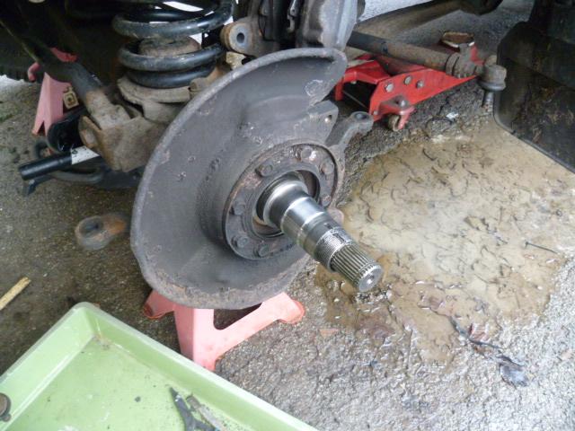 Half Shaft Removal Tool