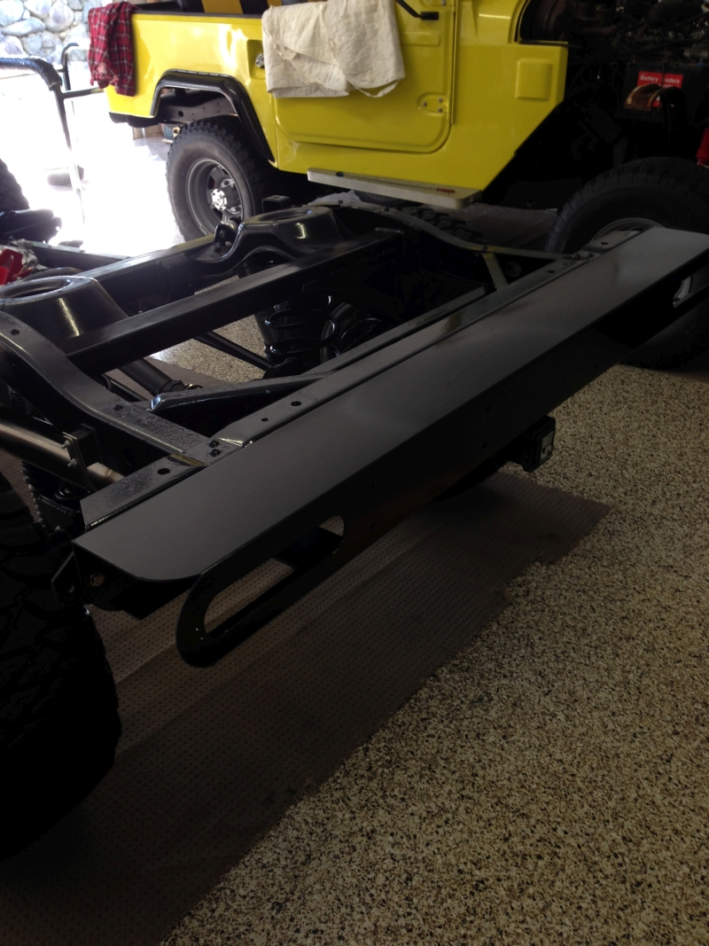 40 series chassis, 80 series suspension, 75 series 5 speed