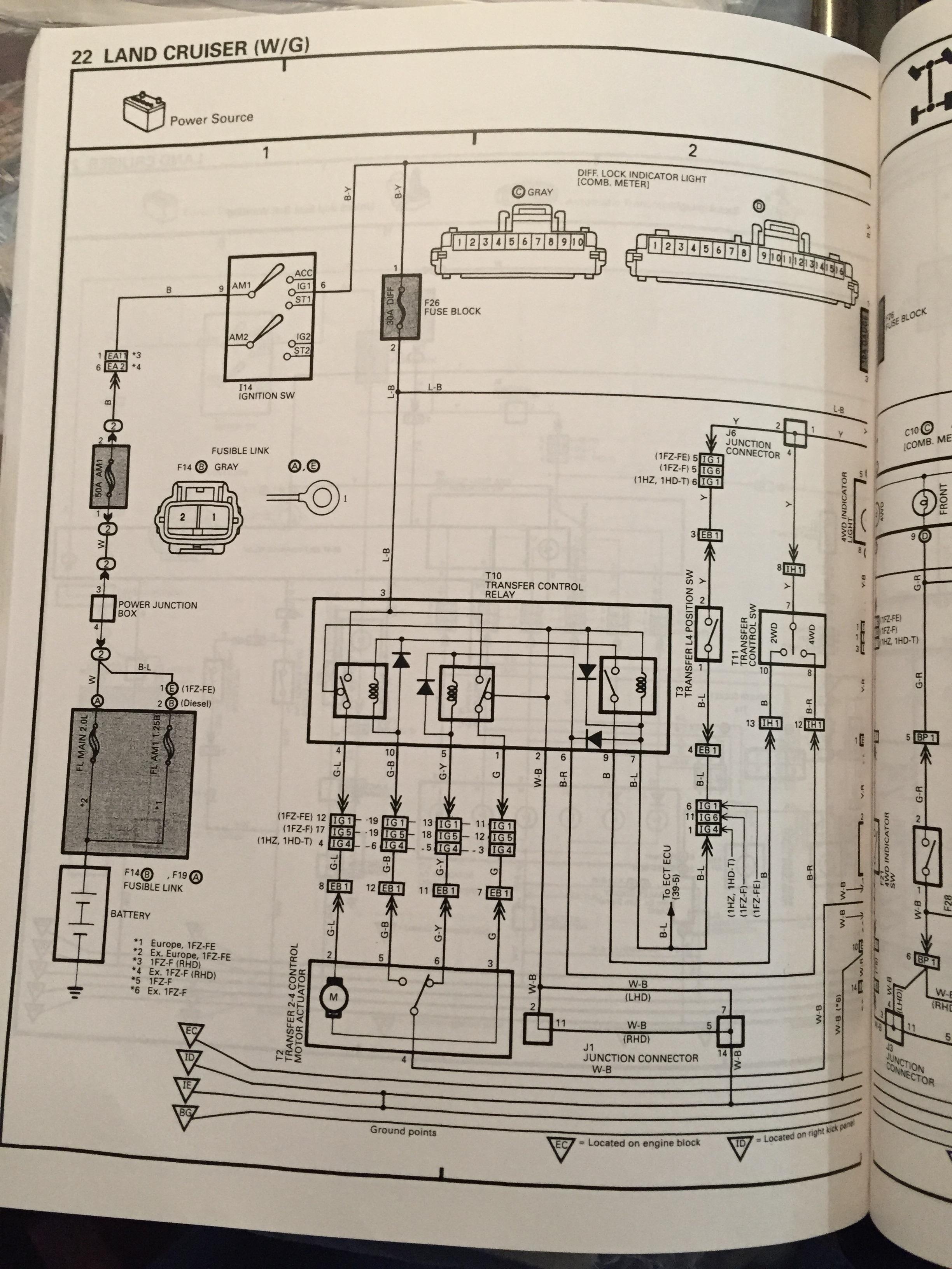 Fitting Factory Lockers Missing Wiring Land Cruiser Club Fj60 Diagram Temp Sending Iphone6 005