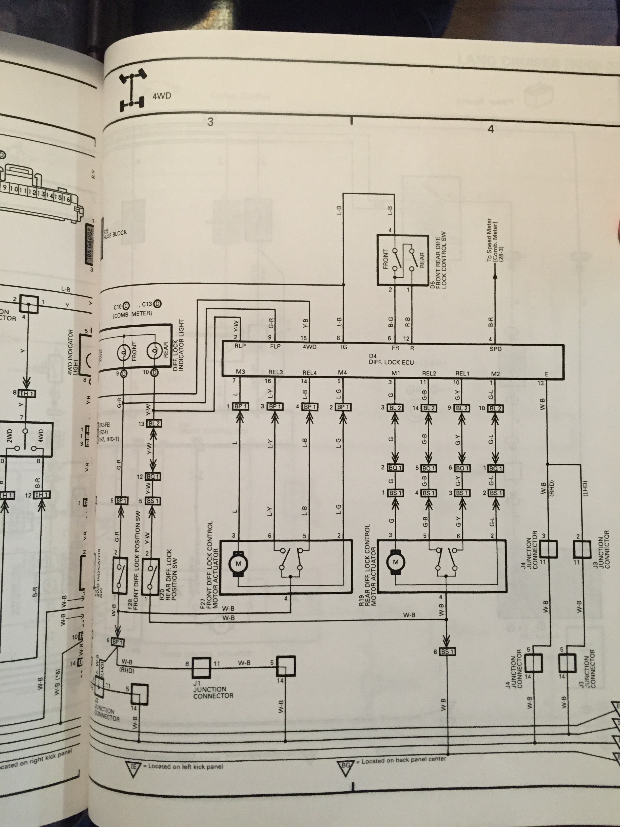 Fitting Factory Lockers Missing Wiring Land Cruiser Club. Toyota. 2015 Toyota Land Cruiser Wiring Diagrams At Scoala.co