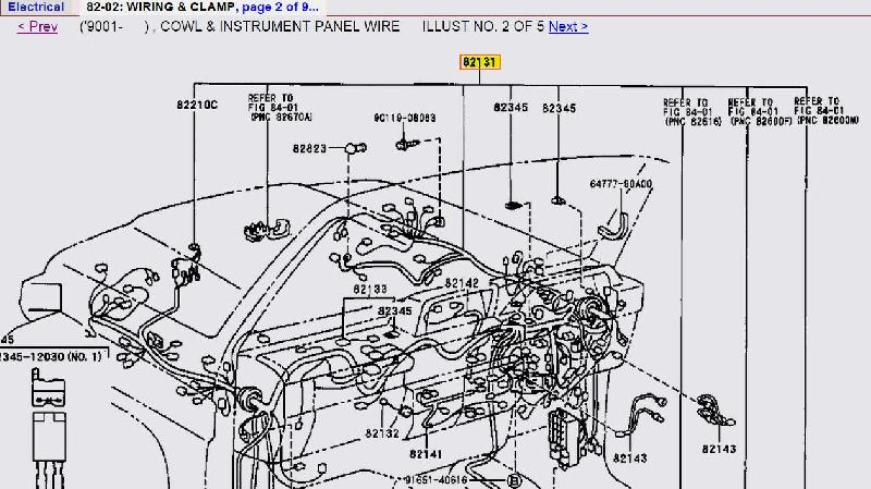 Fitting Factory Lockers Missing Wiring on toyota engine schematic