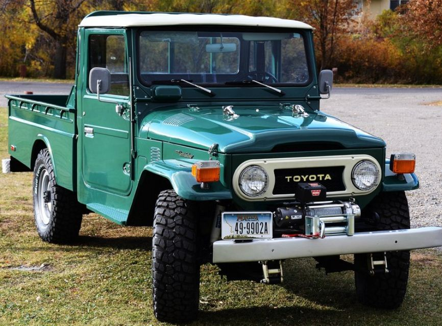 Hi From New FJ45 Pick Up Owner
