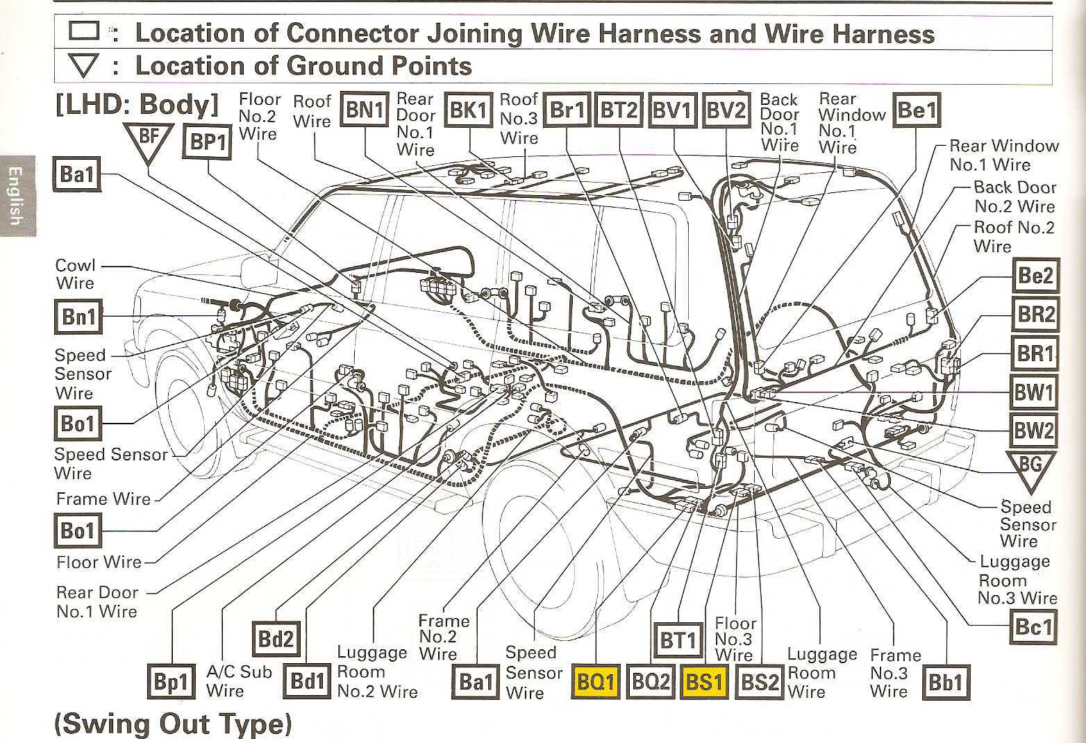 land cruiser door lock wiring diagram 1996 wiring library rh 84 akszer eu