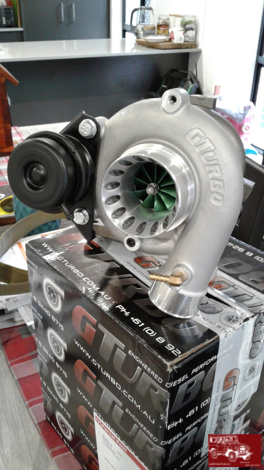 Gturbo Green Vortex for 1HDT | Land Cruiser Club